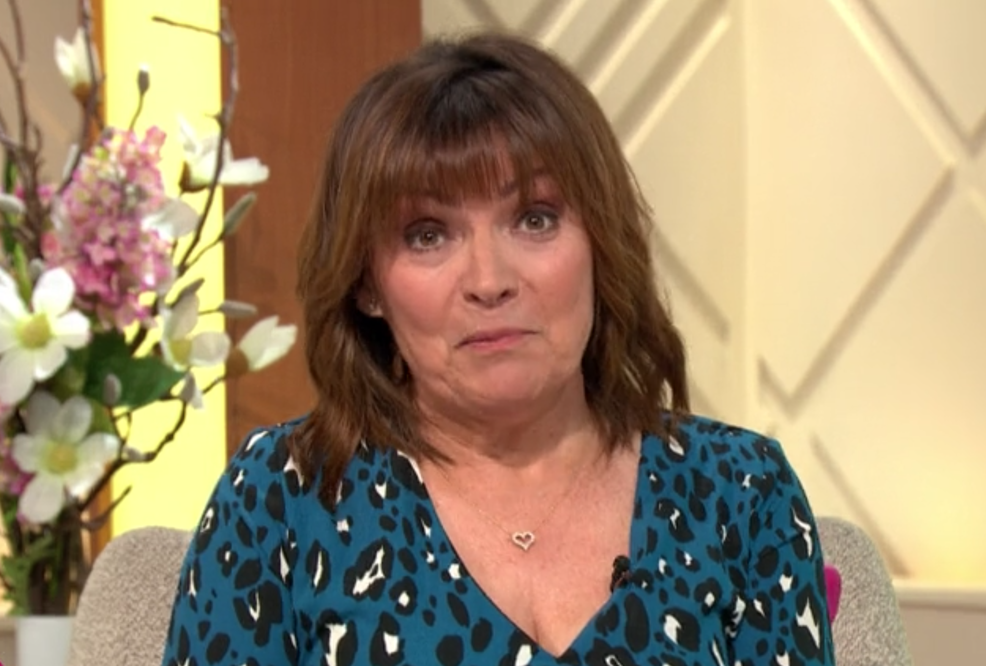 Lorraine 'lets slip' Caprice may NOT return to Dancing On Ice
