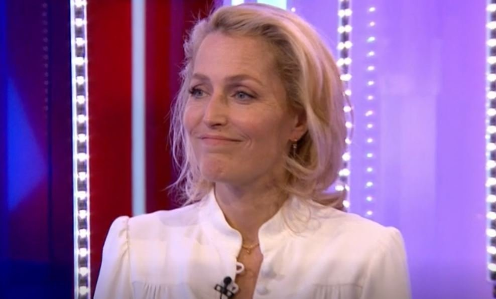 The One Show: Viewers question guest Gillian Anderson's British accent