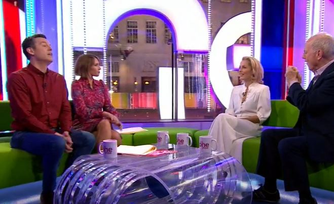 Gillian Anderson on The One Show