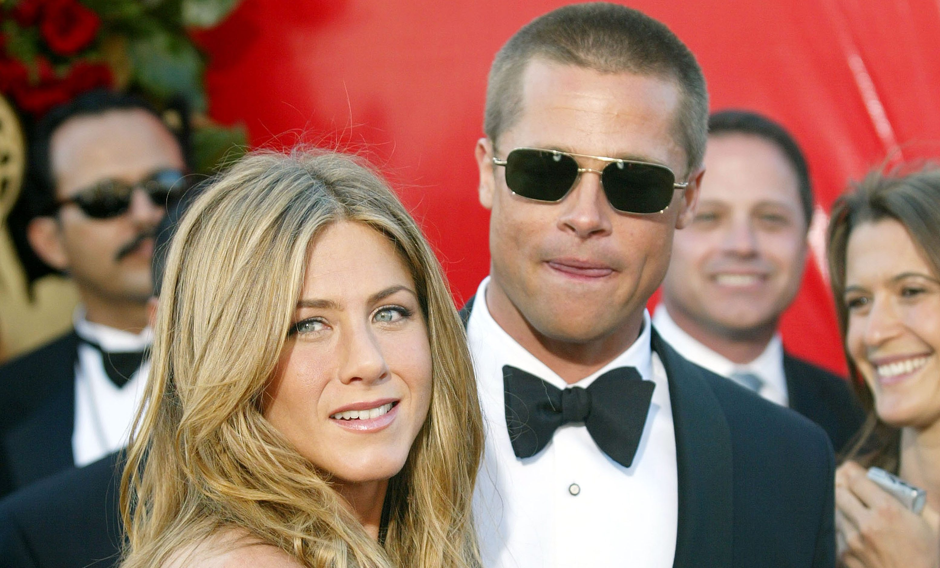 Fans desperate to see Brad Pitt and Jennifer Aniston get back together again after reuniting at awards ceremony