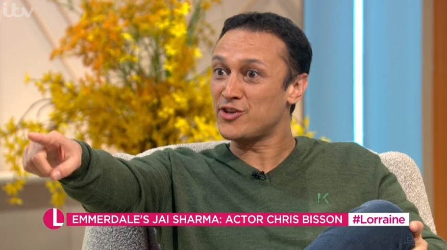 Emmerdale's Chris Bisson reveals he's mistaken for EastEnders character