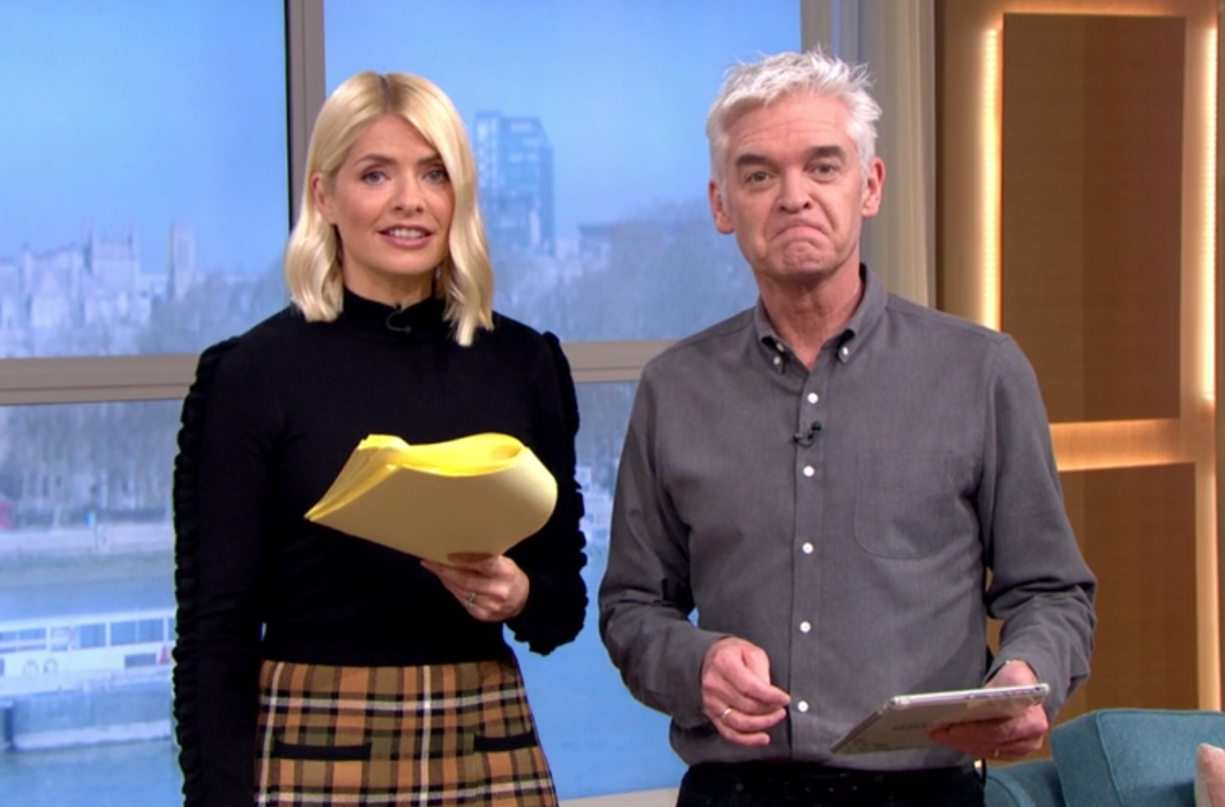 Phillip Schofield and Ruth Langsford come face-to-face on air for first time since 'formal complaint'