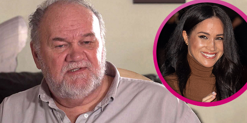 Thomas Markle fears the next time Meghan will see him is when he is being 'lowered into the ground'