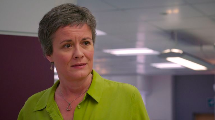 Holby City viewers in tears as Serena Campbell makes her exit