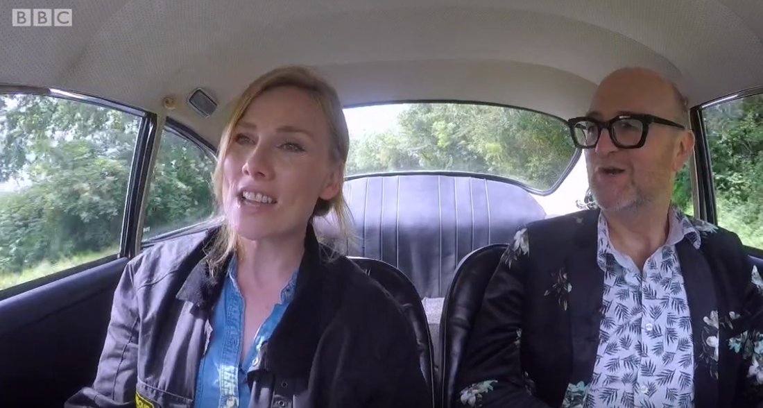 Rosie Marcel swaps Holby City for Celebrity Antiques Road Trip
