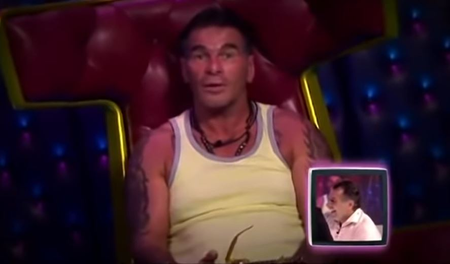 Paddy Doherty on Celebrity Big Brother