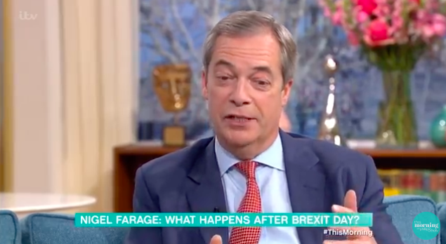 Nigel Farage wouldn't rule out going on I'm A Celebrity... Get Me Out Of Here!