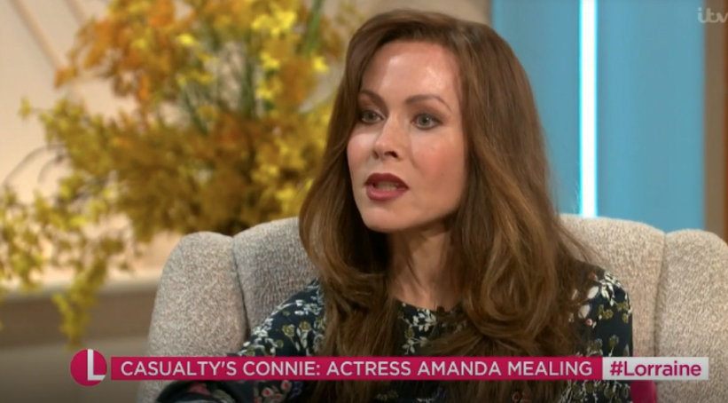 Casualty's Amanda Mealing reveals back problems were behind her break from the show