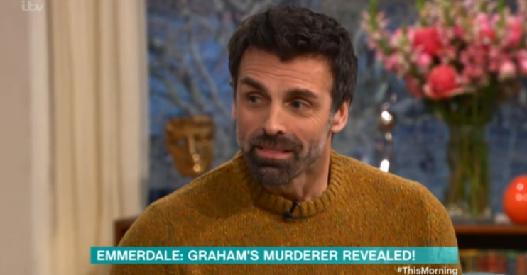 Emmerdale Pierce Jonathan Wrather1 Credit: ITV This Morning