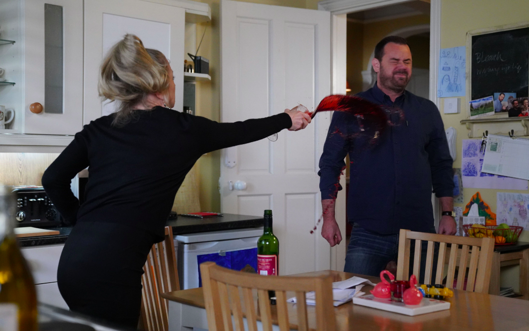 EastEnders SPOILERS: Linda Carter attacks husband Mick
