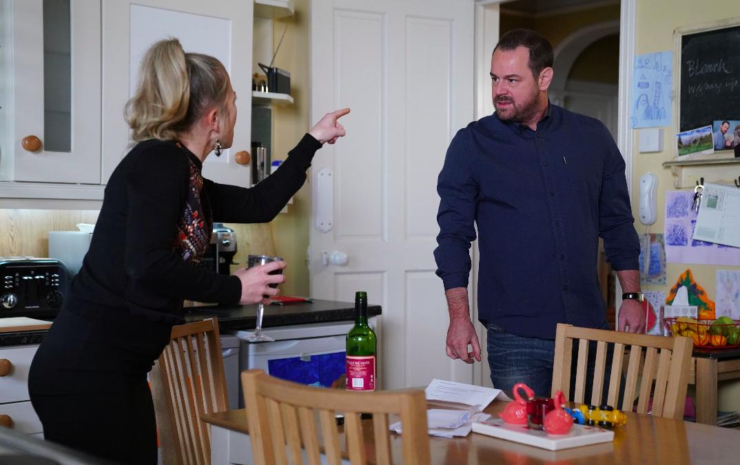 EastEnders SPOILERS: Linda Carter attacks husband Mick