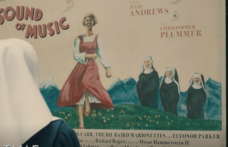 The Sound of Music Poster in Call the Midwife