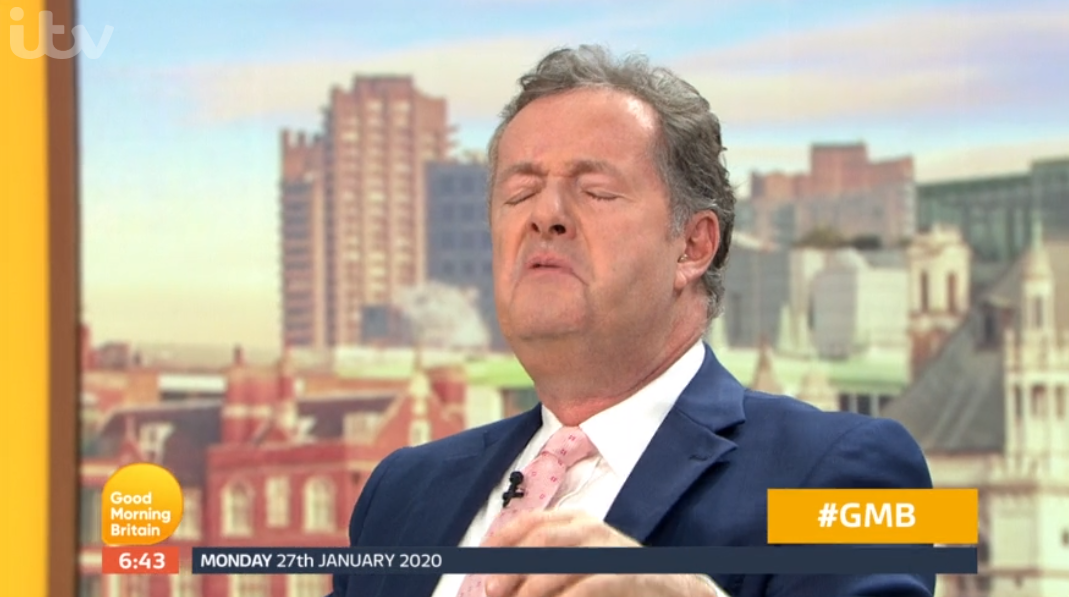 Good Morning Britain's Piers Morgan nearly tells Susanna Reid to 'shut up'