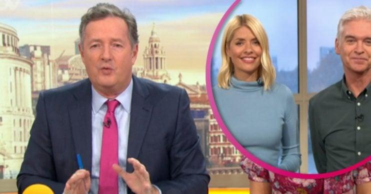 Piers Morgan on GMB - Credit: ITV