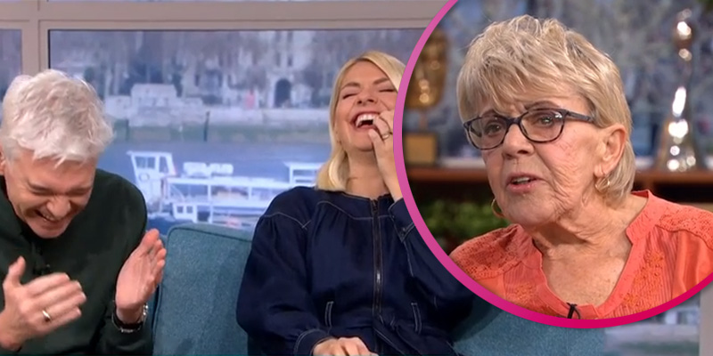 Phil and Holly giggle as OAP, 80, gets graphic about sex with toyboy