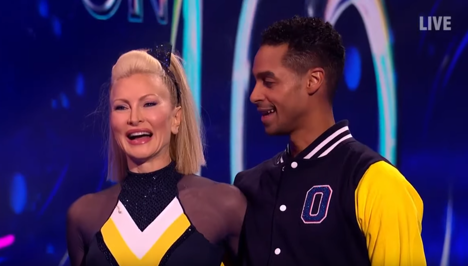 Dancing On Ice's Caprice Bourret reveals painful bruises from training