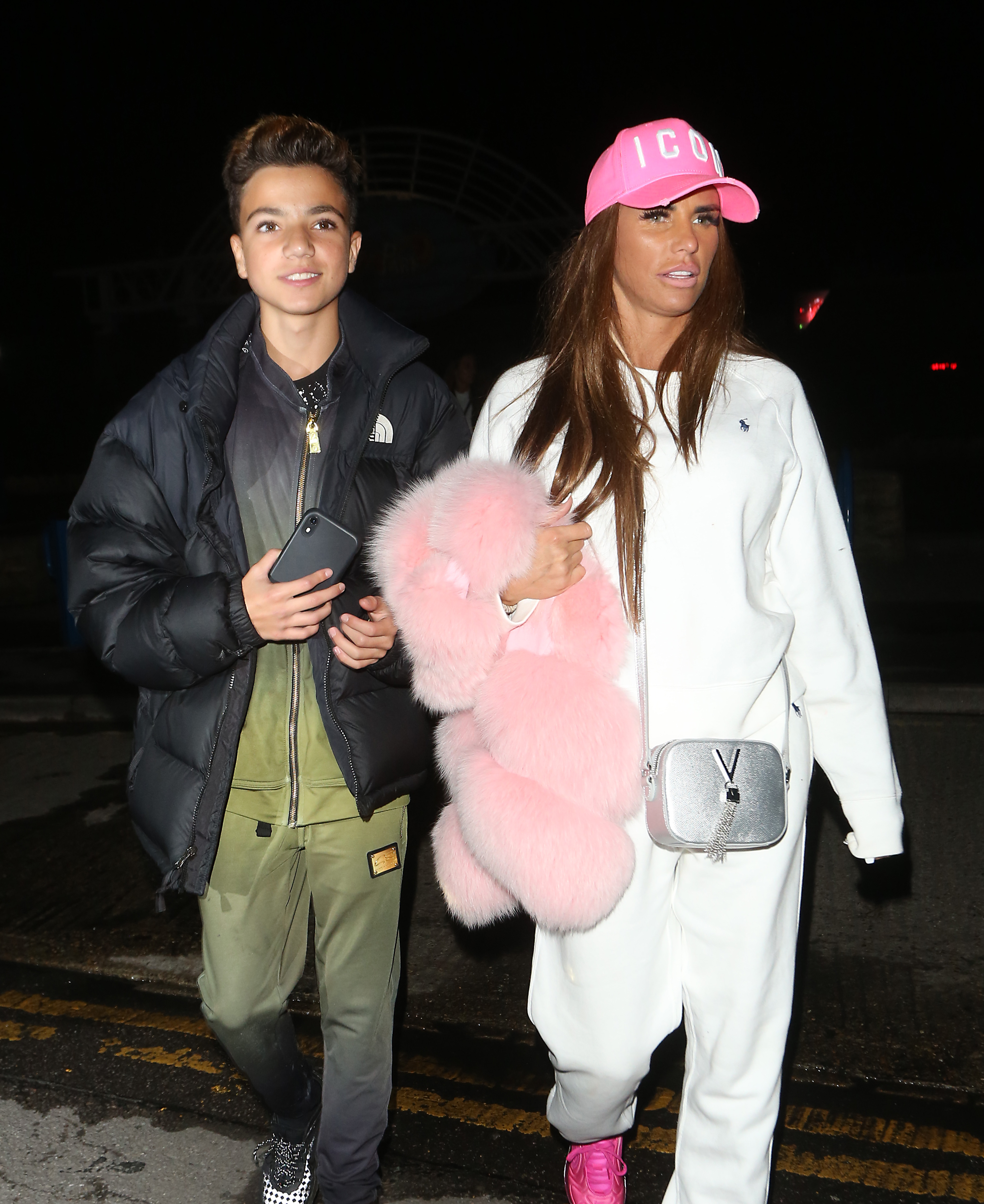 Junior Andre and Katie Price