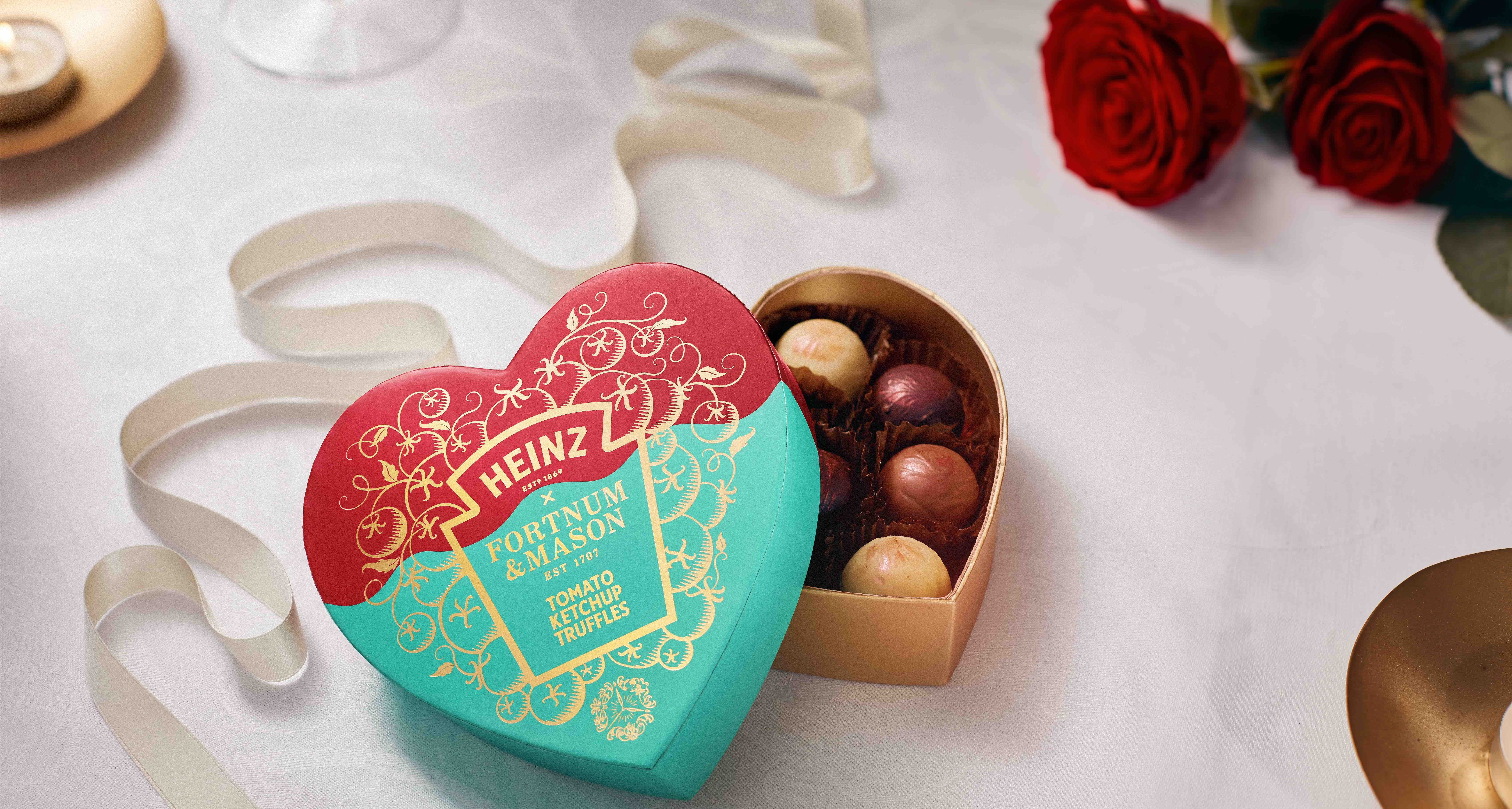 Heinz launches heart-shaped box of ketchup AND chocolate truffles for Valentine's Day