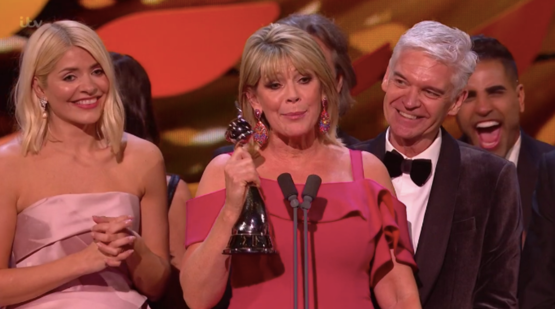 NTAs: Viewers spot tension between Phillip Schofield and Ruth Langsford as This Morning wins Best Live Magazine Show