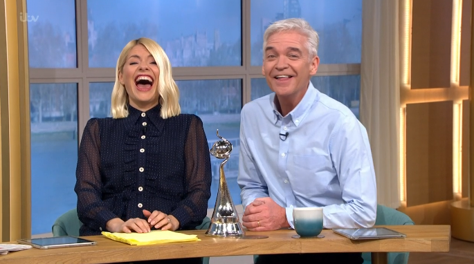 This Morning viewers divided over Holly Willoughby and Phillip Schofield's NTAs hangover