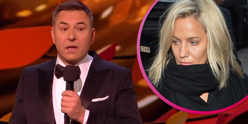 NTAs: Viewers unimpressed with David Walliams' joke about Caroline Flack