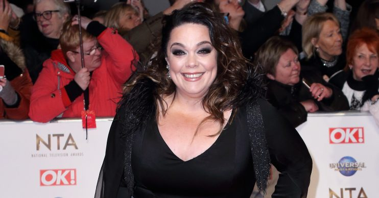 National Television Awards (NTA) 2020 Red Carpet Arrivals, O2 London Pictured: Lisa Riley Ref: SPL5143746 280120 NON-EXCLUSIVE Picture by: Grant Buchanan / SplashNews.com Splash News and Pictures Los Angeles: 310-821-2666 New York: 212-619-2666 London: +44 (0)20 7644 7656 Berlin: +49 175 3764 166 photodesk@splashnews.com World Rights