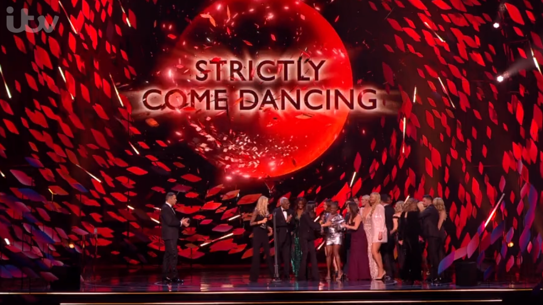 Strictly wins at the NTAs