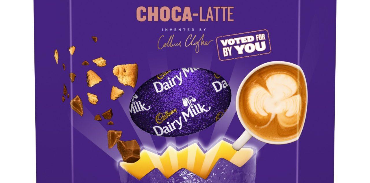 Giant Dairy Milk Choca-Latte Egg and new Caramel Shell Egg are among Cadbury's indulgent Easter treats