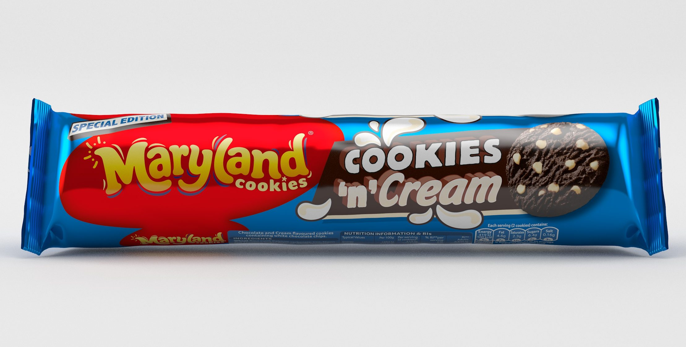 Maryland launches 'incredible' new Cookies 'n' Cream biscuits – and they're on offer for 75p!