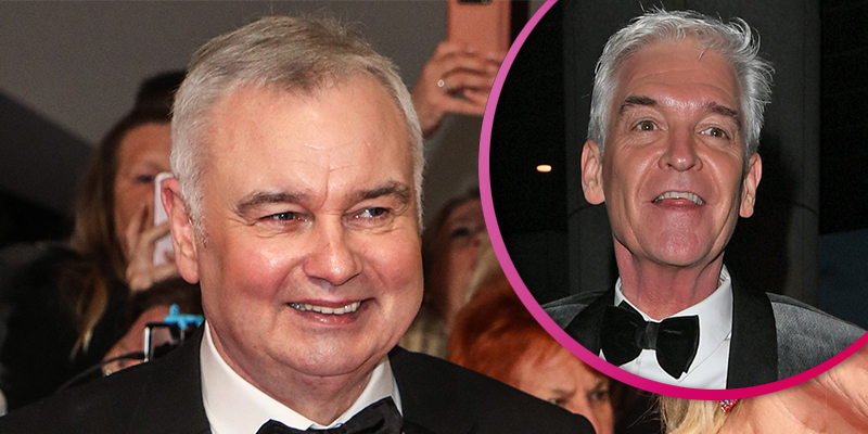 Eamonn Holmes 'has no issues' with Phillip Schofield despite NTAs rumours