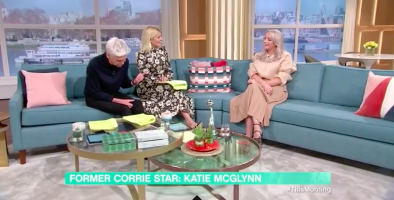 Katie McGlynn This Morning