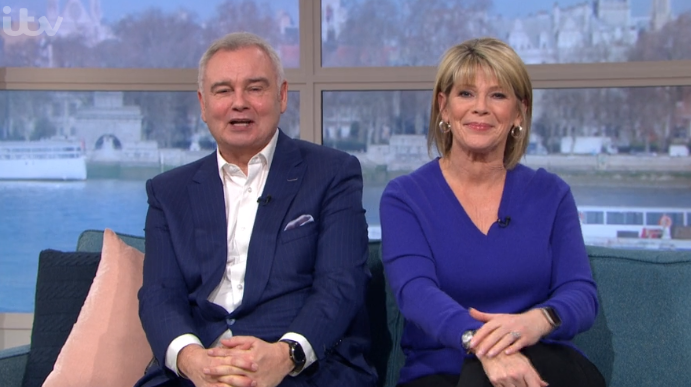 Eamonn Holmes appears to take swipe at This Morning 'feud' rumours