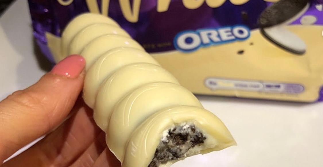 Cadbury's new White Chocolate Oreo bars are hailed as a 'dream come true'