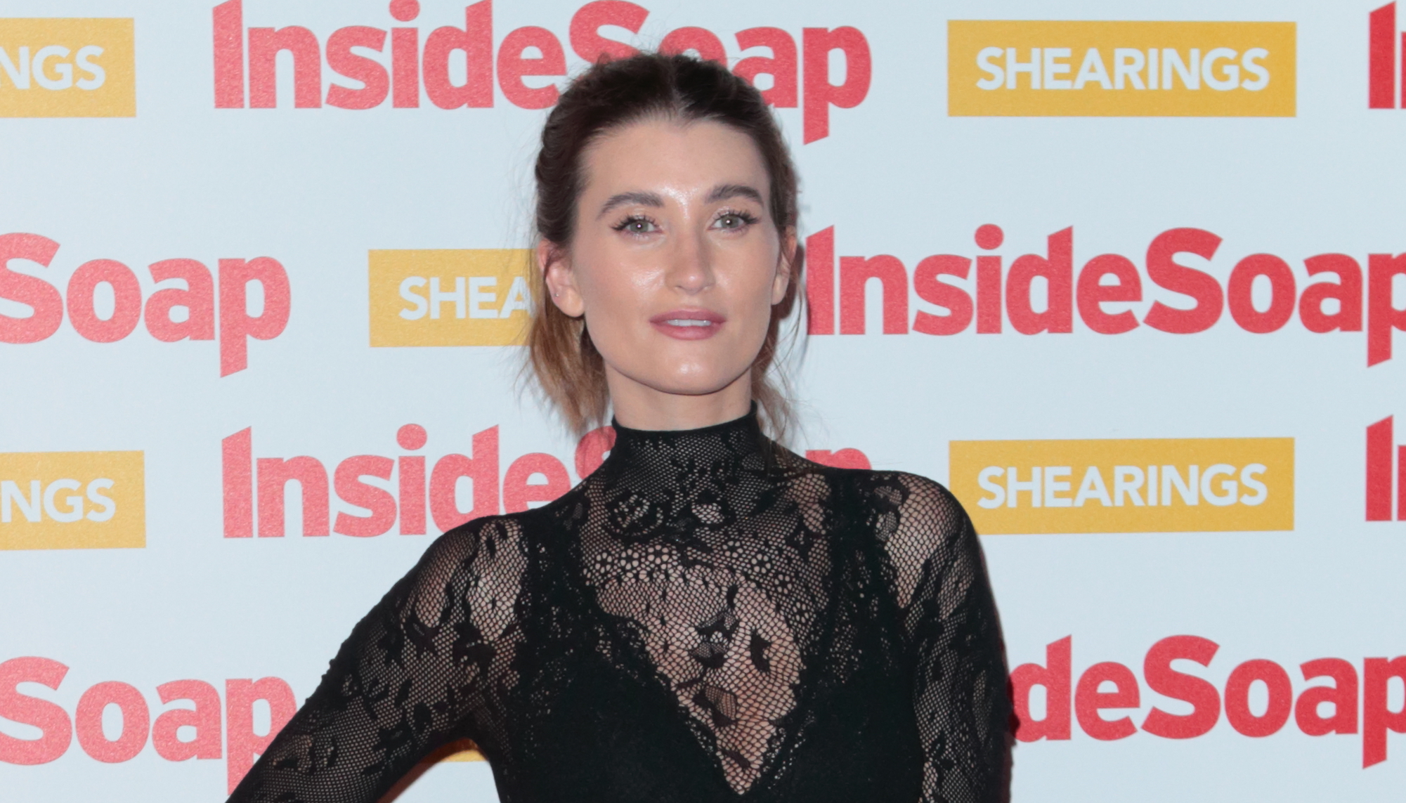 Charley Webb enjoys birthday brunch with Emmerdale co-stars