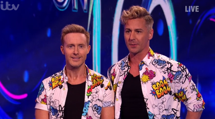 Dancing On Ice's Ian 'H' Watkins suffers nasty shoulder injury ahead of show
