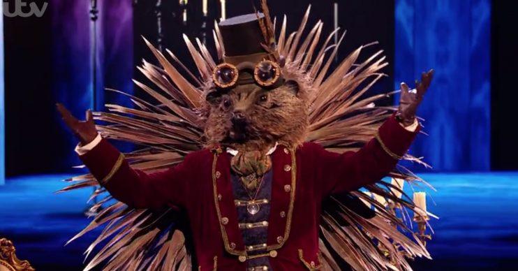 Jason Manford was The Hedgehog on The Masked Singer in 2020 (Credit: ITV)