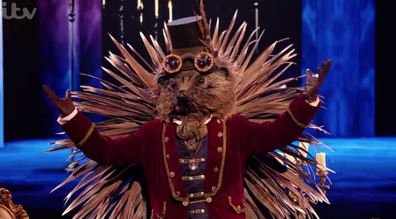 The Masked Singer: Could Sunday morning TV presenter Simon Rimmer be Hedgehog?