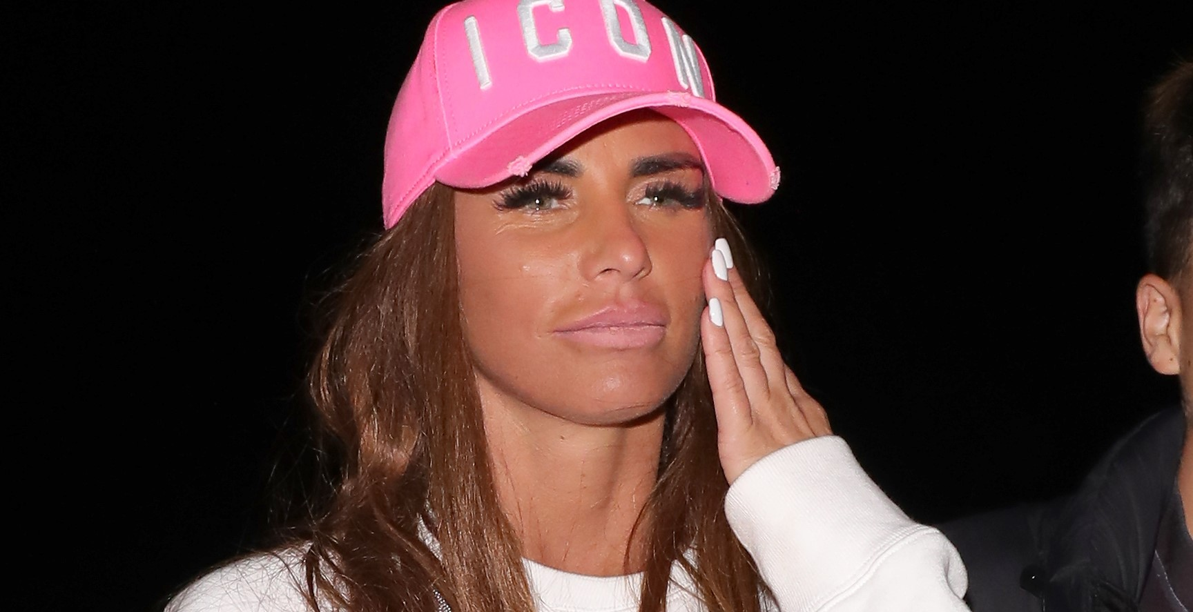 Katie Price furiously slams rehab claims after being spotted outside The Priory