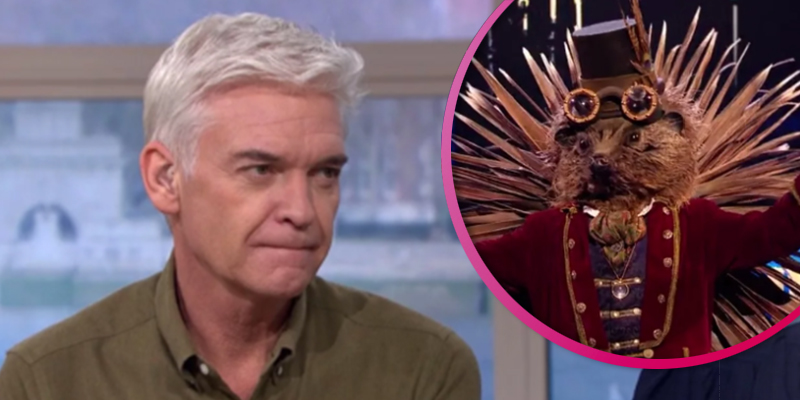 Phillip Schofield breaks silence on rumours he's Hedgedog on The Masked Singer