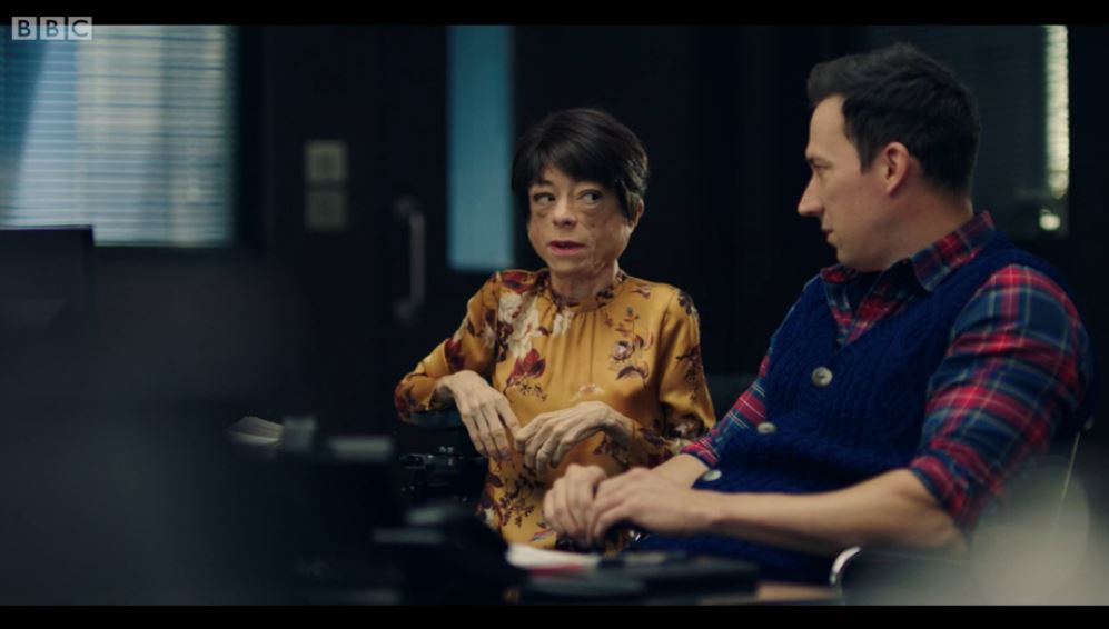 Jack and Clarissa in Silent Witness
