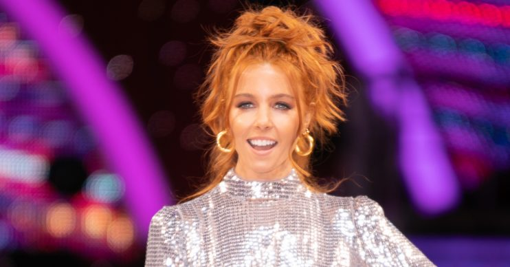 Stacey Dooley at Strictly photocall