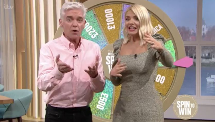 This Morning viewers 'outraged' as caller appears to 'cheat' in Spin to Win segment