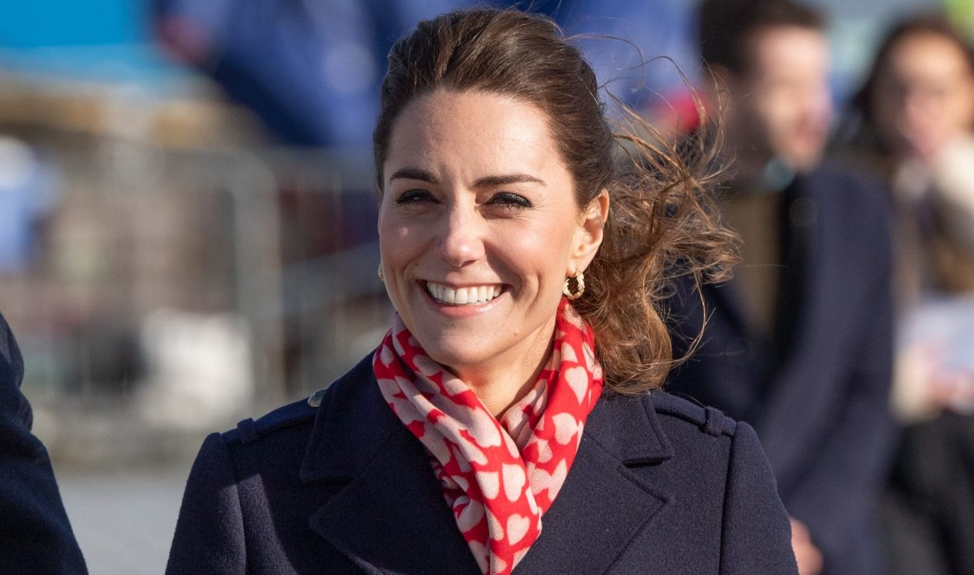 Duchess of Cambridge dons Valentines-inspired outfit for royal appointments in Wales