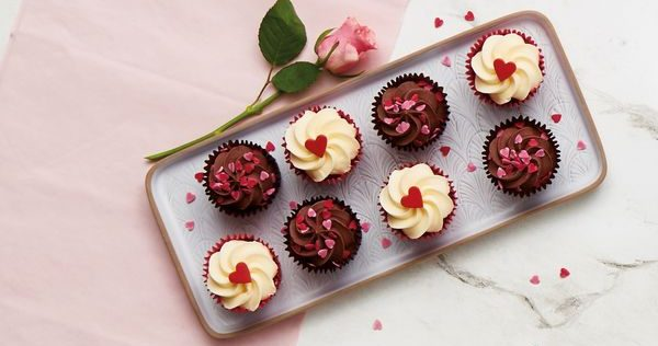 Aldi launches bargain mini heart-shaped pancakes and cute red velvet cupcakes for Valentine's Day