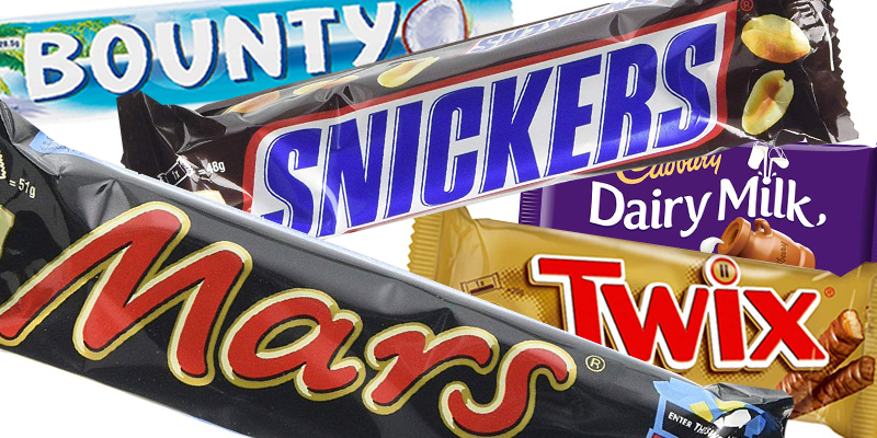 The nation's favourite chocolate bar has been revealed and the results may surprise you