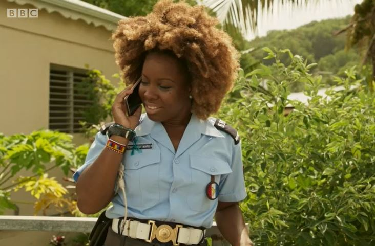 Ruby in Death in Paradise