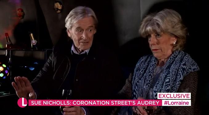 Coronation Street Audrey and Ken Credit: ITV