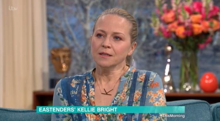 EastEnders Kellie Bright This Morning Credit: ITV