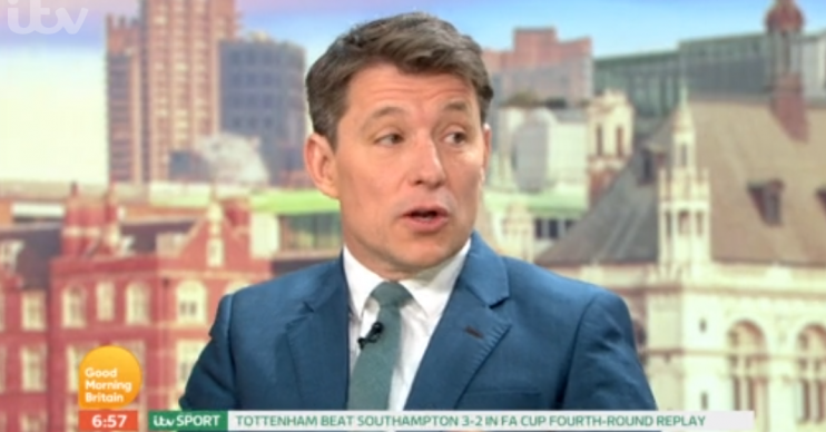 Ben Shephard on Good Morning Britain