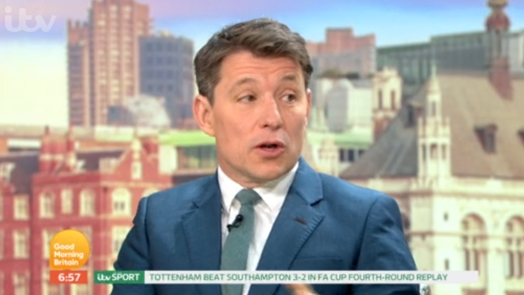 GMB's Ben Shephard opens up about his 'awful' proposal wife to Annie Perks